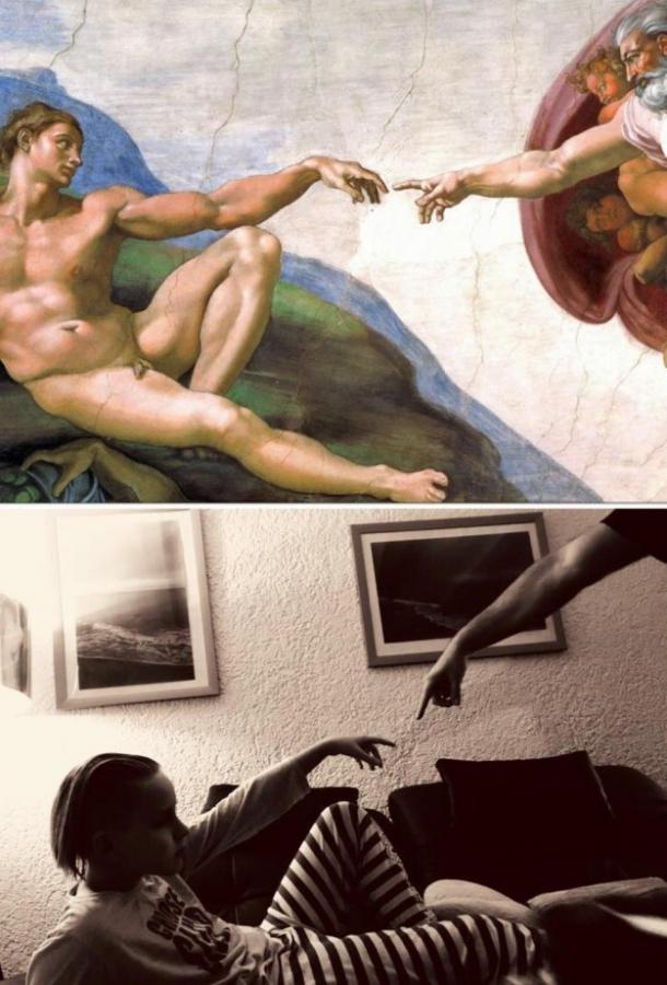 8-RM-Michelangelo-Die-Erschaffung-Adams